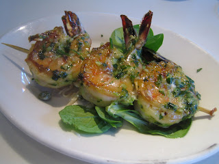 Cafe Chloe - Garlic Shrimp Brochette