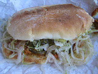 Tortas Paquime - Shredded Pork torta