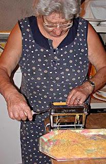 Kyria Fani Cutting Hilopites