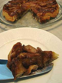 Pear and Apple Tarte Tatin
