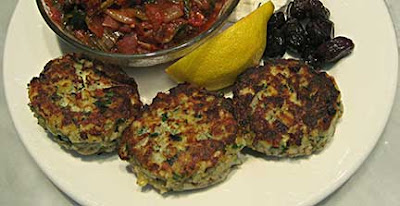 Savory Fish Cakes/Ψαροκεφτέδες