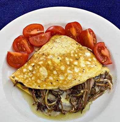 Fireweed Shoot Omelet