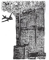 Image of 9/11 from George Walker's The Book of Hours