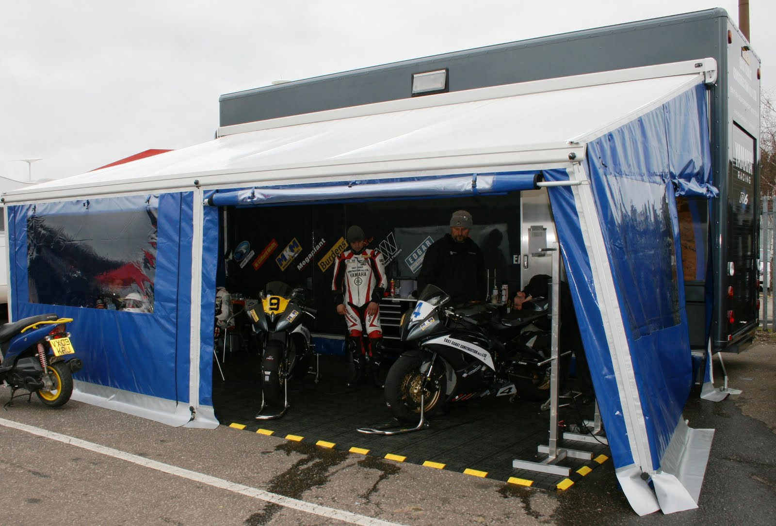 Our Smart Home And Workshop For Race Weekends