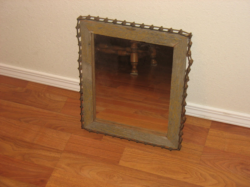 Old Rustic Barn Wood Mirrors