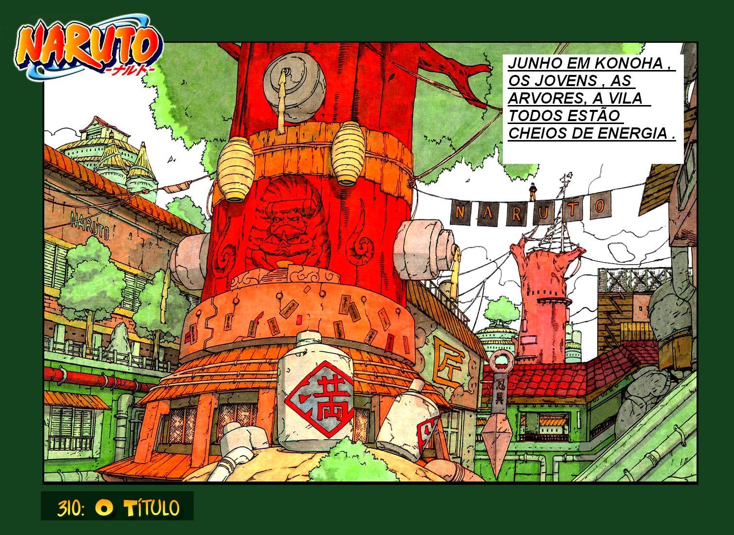 Naruto Colorido ~ Naruto Blogger Tokyo Naruto 310 Colorido