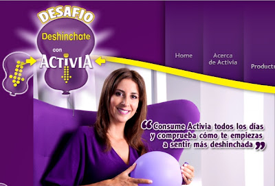 Desinchate con Activia