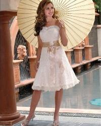 Для літнього весільного плаття