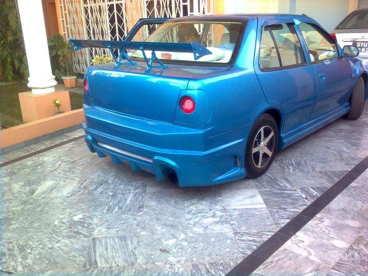 Modified Cars In Pakistan Modifed Margalla Candy Blue