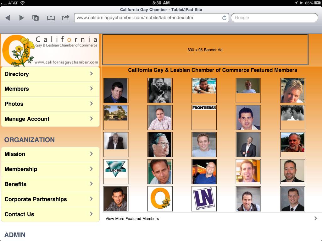 Гей сайт для мобильного 2 фотография