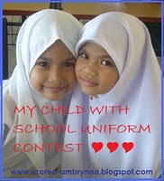My Child With School Uniform Contest