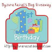 Byzura Razali's Blog Giveaway
