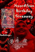 Nor Afzan Birthday Giveaway