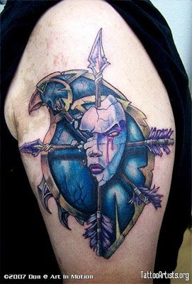 warcraft tattoo