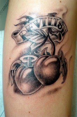 Cherry tattoo