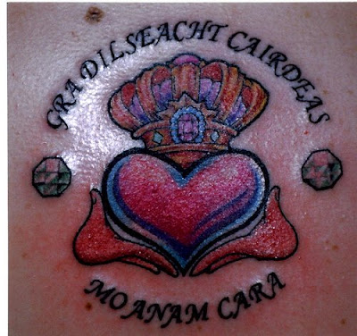 Irish Tattos on Tattoo  Irish Tattoo   Gradilseacht Cairdeas Mo Anam Cara