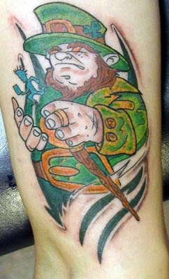 Irish tattoo - St Patrick