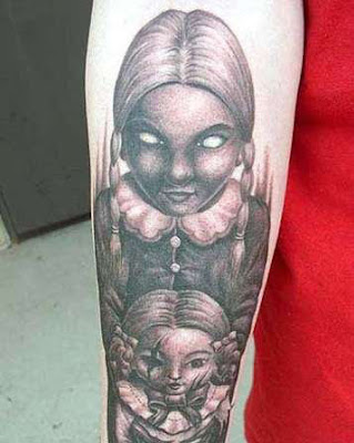 terrible girl tattoo