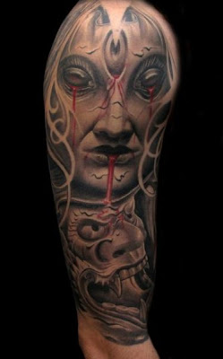 Gothic tattoo