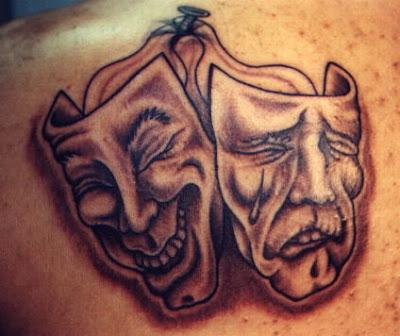 Masks tattoo