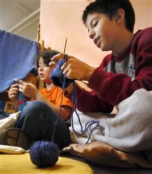 Bonus Knitting Lesson: Backward Loop Increase Explained