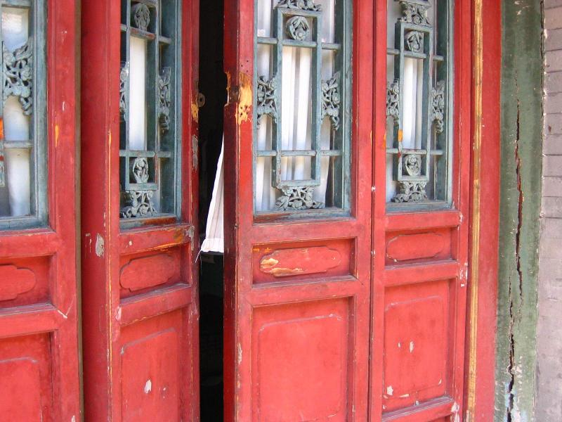[Open+red+door]