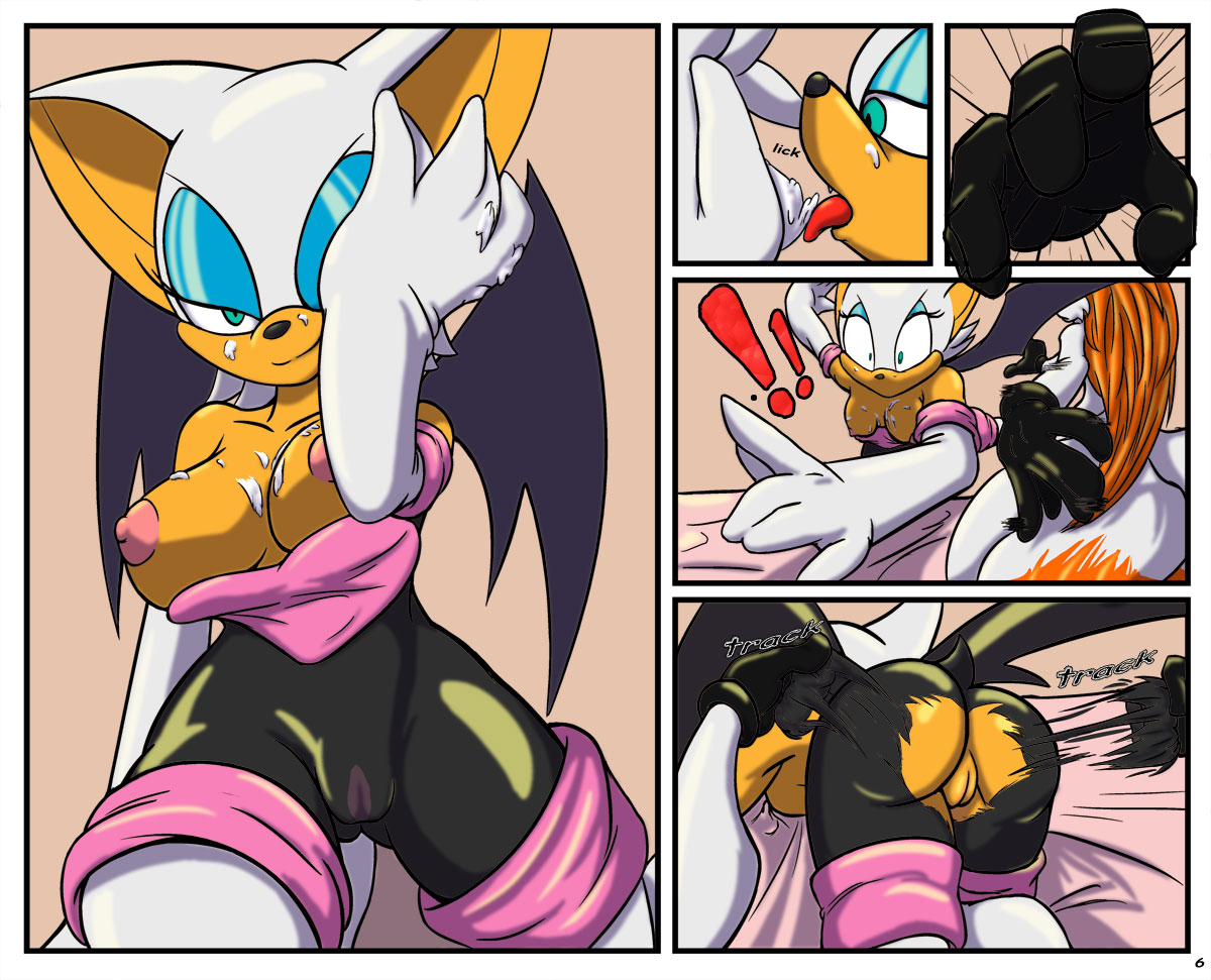 Didn't sonic and rouge sex amazing