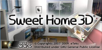 Ubuntu pt sweet home 3d for Software diseno de casas