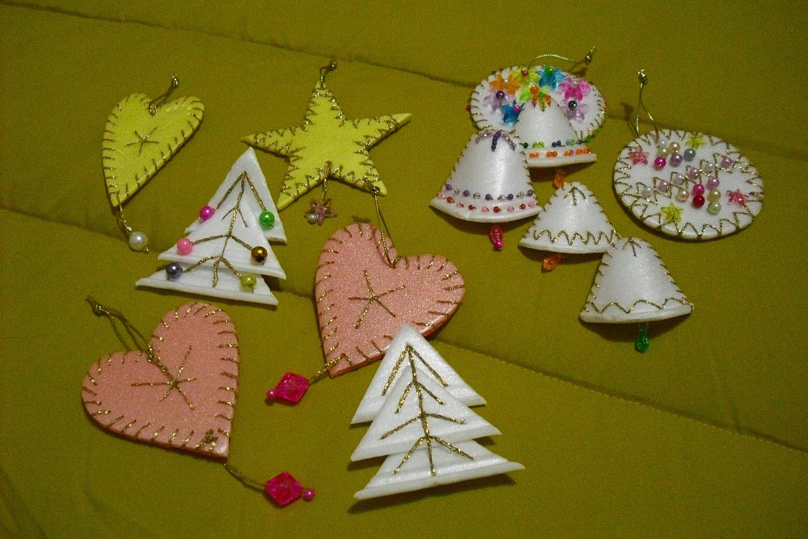 Las cosas de elia adornos navidad con bandejas de corcho for Bandejas de navidad