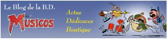 """Le Blog de la BD                 """" Les Musicos"""""""