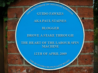 Guido Blue Plaque