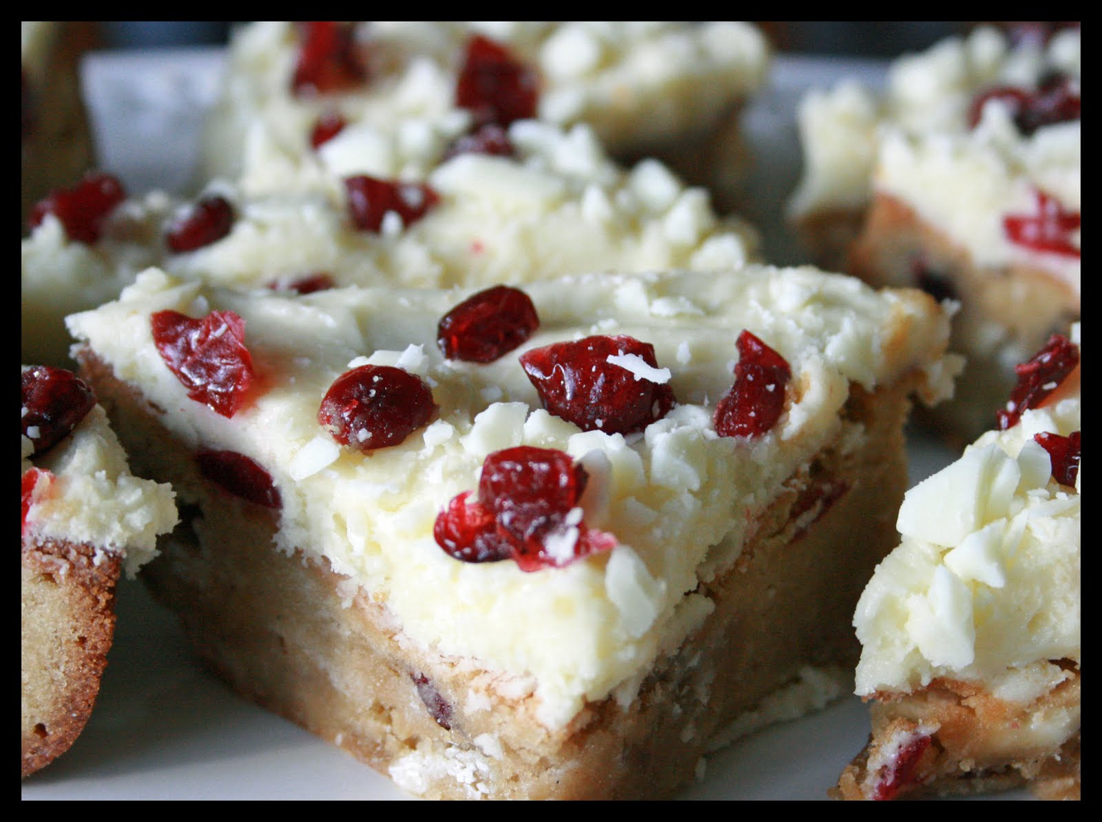 Creations by Steph: Cranberry Bliss Bar