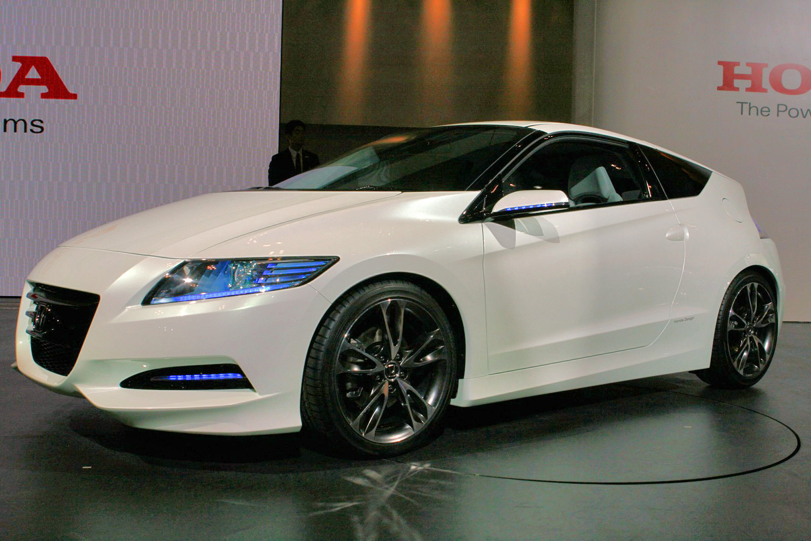 Honda CR Z front view