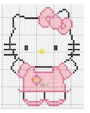 Hello Kitty para bordar