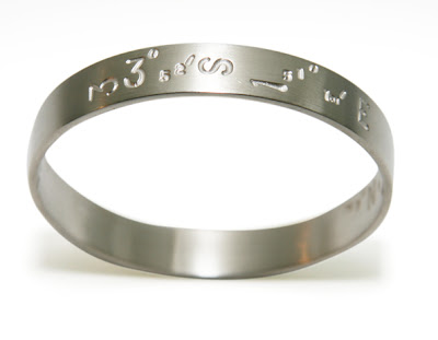 jasonmoss: stamped bangle :  bangle jasonmoss stamped