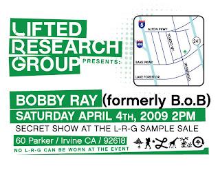 IF & CO.   BEN BALLER BLOG » B.O.B. SECRET SHOW/CONCERT @ L-R-G ...