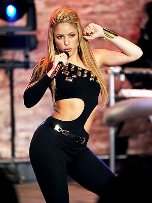 She's a she-wolf with a sick arse body. Shakira