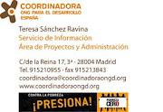 Coordinadora ONG para el desarrollo de España