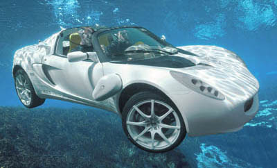 Rinspeed sQuba - Car That Can Go Underwater