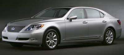 Lexus LS 600h L - uel-efficient gasoline-electric hybrid technology