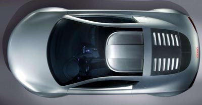 concept car developed for use as a product placement in the 2004 sci-fi