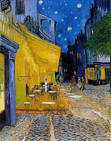 Van Gogh Sidewalk Table