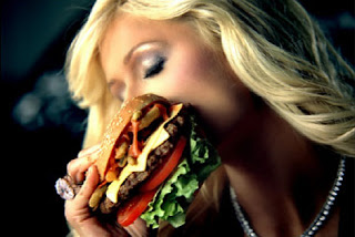 Paris Hilton Carl's Jr. advertisement