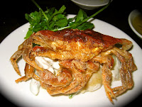 Soft Shell Crab at Casa Mono