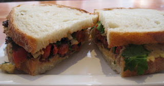chopped chickpea sandwich at 'witchcraft