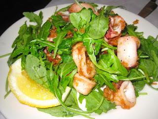 calamari at Veloce Pizzeria