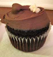 chocolate gluten free cupcake at Babycakes