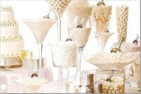 Island wedding planners sweet treats wedding trend candy buffet
