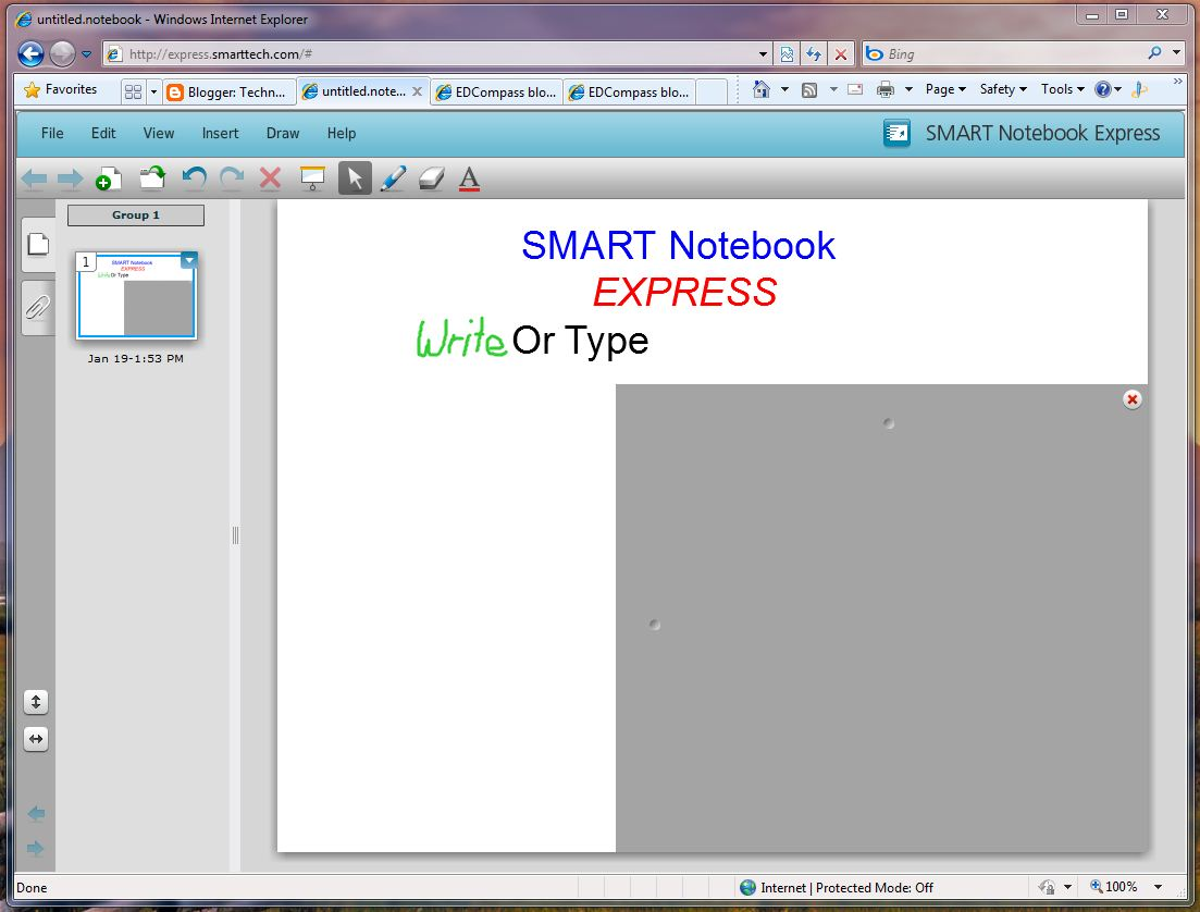 SMART Notebook Express web application - SMART Technologies