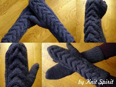 tricot patron moufle